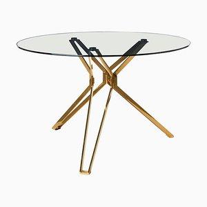 Tavolo rotondo moderno in vetro, Pols Potten Studio