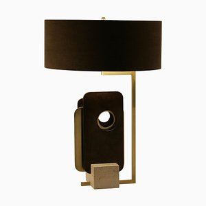 Brass ''Tre Piastre'' Table Lamp