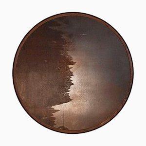 Hand Sculpted ''Porthole Mirror'' Mirror, Nicholas Hamilton Holmes