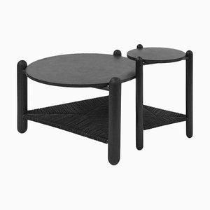 Table Basse The Captain's Table Sculptée à la Main, Nicholas Hamilton Holmes