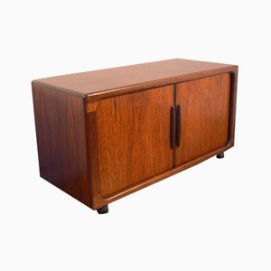 Organic Rosewood Credenza on Wheels from Dyrlund