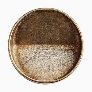 Runde Vide-Poche aus Bronze von Henry Wilson