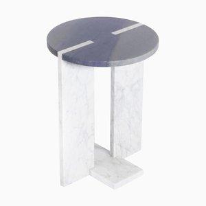 Marble ''Athos'' Side Table, Giorgio Bonaguro