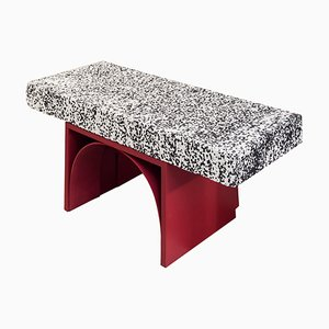 Dalmata Marble ''I Can't Believe It's Not Stone'' Stool, Ilaria Bianchi
