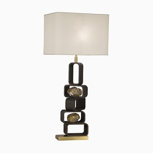 Iron and Brass ''Parigi'' Table Lamp