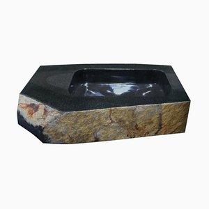 Skulpturales Waschbecken, Daté Kan Stone Design von Okurayama