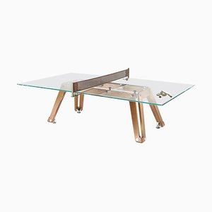 Lungolinea Wood Edition, Ping Pong Table, by Impatia
