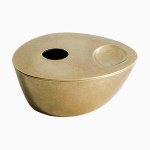 Solid Brass Oil Burner by Henry Wilson