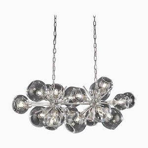 Horizontal Duo, Blown Glass Pendant Lamp