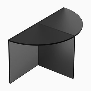 Black Satin Glass ''Fifty'' Coffee Table, Sebastian Scherer
