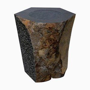 Skulpturaler Topf, Daté Kan Stone Design von Okurayama