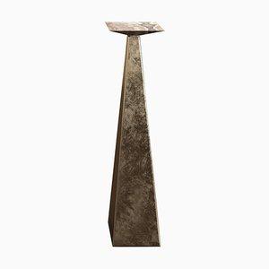 Aged Brass Gueridon by Pietro Franceschini