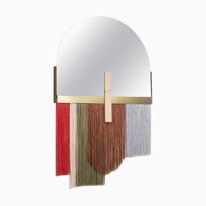 Specchio da parete colorato di Dooq