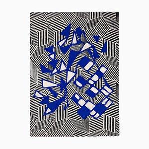 Colorful Pop Art Rug by Sophie Dariel