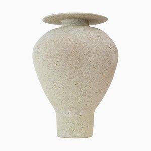 Isolierte Glasierte Vase aus Steingut, Raquel Vidal und Pedro Paz