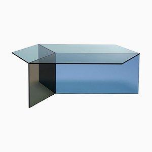 Clear Glass ''Isom Oblong'' Coffee Table - Sebastian Scherer