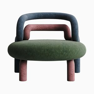 Chloroplast Contemporary Armchair by Taras Zheltyshev
