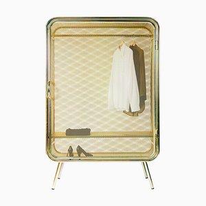 Large Harold Gold Cabinet, Jesse Visser