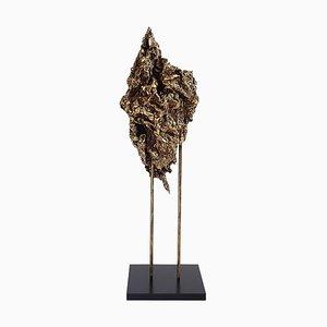 Zerdrückte Skulpturale Lampe, Isac Elam Kaid