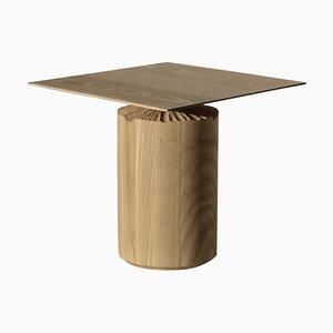 Hand-Sculpted Ash Table by Sanna Völker