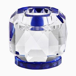 Texas T Wandlampe aus Kristallglas in Handskulptiertem Design aus Kristallglas