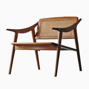 Vintage Teak Side Chair by Michel Ducaroy Ligne Roset