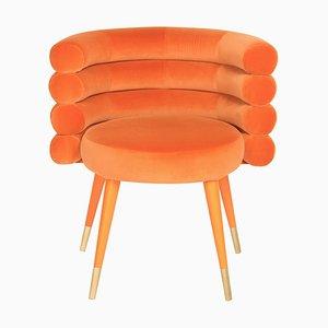 Orangefarbener Marshmallow Stuhl, Royal Stranger
