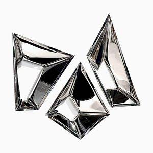 Original Decorative Cristals Wall Mirror, Zieta