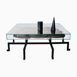 Sculpted Kinetic Magnetic Table N.5, JM Szymanski