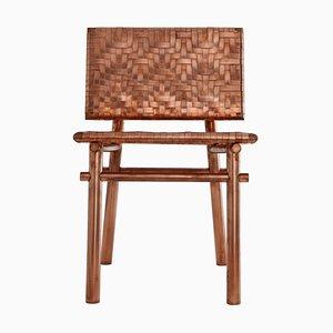 Rec Rec Chair aus Kupfer, signiert von Michael Gittings