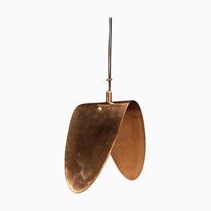 Brass Banana Ceiling Pendant Light, Ivan Basov