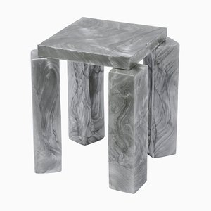 Mother of Pearl Side Table by Marten and Joost