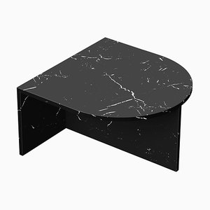 Black Marble ''Fifty Oblong'' Coffee Table, Sebastian Scherer