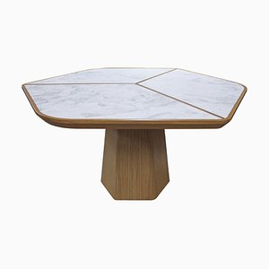 Evolve Dining Table for Marbleous by Buket Hoşcan Bazman