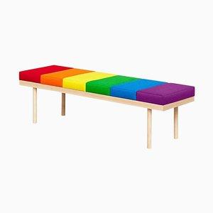 Fauteuil Édition Limitée Pride, Valentino Bench, Pepe Albargues