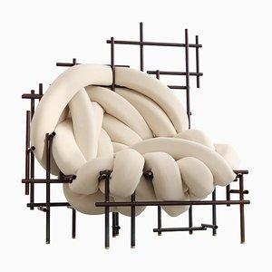 Lawless Fauteuil, Unique, Skulptur von Evan Fay