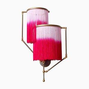 Pinke Charme Wandlampe, Sander Bottinga