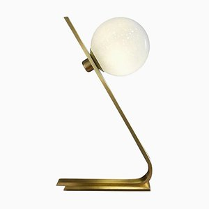 Daphne Brass Italian Table Lamp