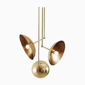 Lampe à Suspension Tango III, Sculptée par Paul Matter