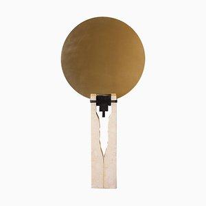 Mirrored Brass and Marble ''Rovinette'' Mirror, Ilaria Bianchi