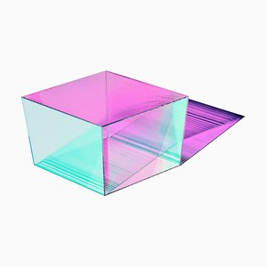 Glass ''Rho Oblong 35'' Coffee Table, Sebastian Scherer