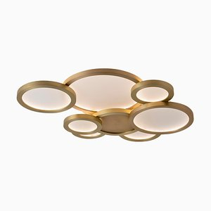 Cloud Ceiling Mounted Brass, Carla Baz