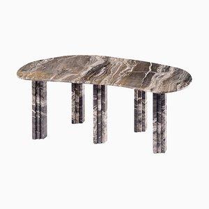 Tavolo da pranzo scultoreo in marmo, Lorenzo Bini
