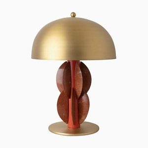 Monarch Table Lamp with Brass Dome, Carla Baz