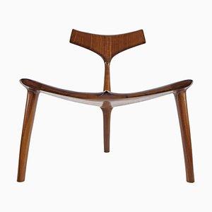 Skulpturale Skulptur Wal Chair Von Morten Stenbaek Handcrafted