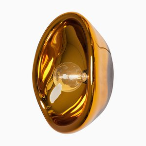 Aurum Gold Glass Sconce by Alex de Witte
