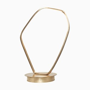 Ophelia Brass Sculptural Table Lamp