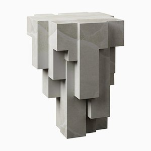 Deseo No.3 Sculpted Side Stool by Pietro Franceschini