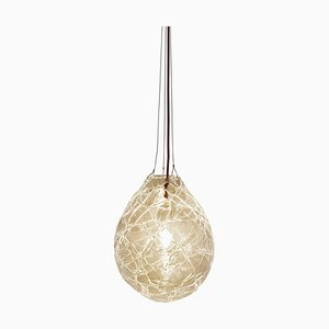 Unique Blown Glass Suspension ''Cocoon'' Ceren Gurkan
