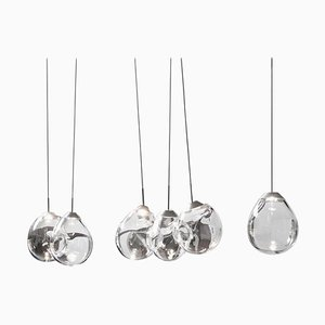 M...' Blown Glass Pendants by Alex de Witte
